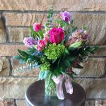 Sweet Hobnail Bouquet