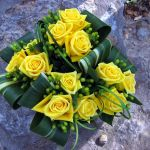 yellow rose bridesmaids