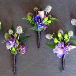 anthropologie style boutonnieres